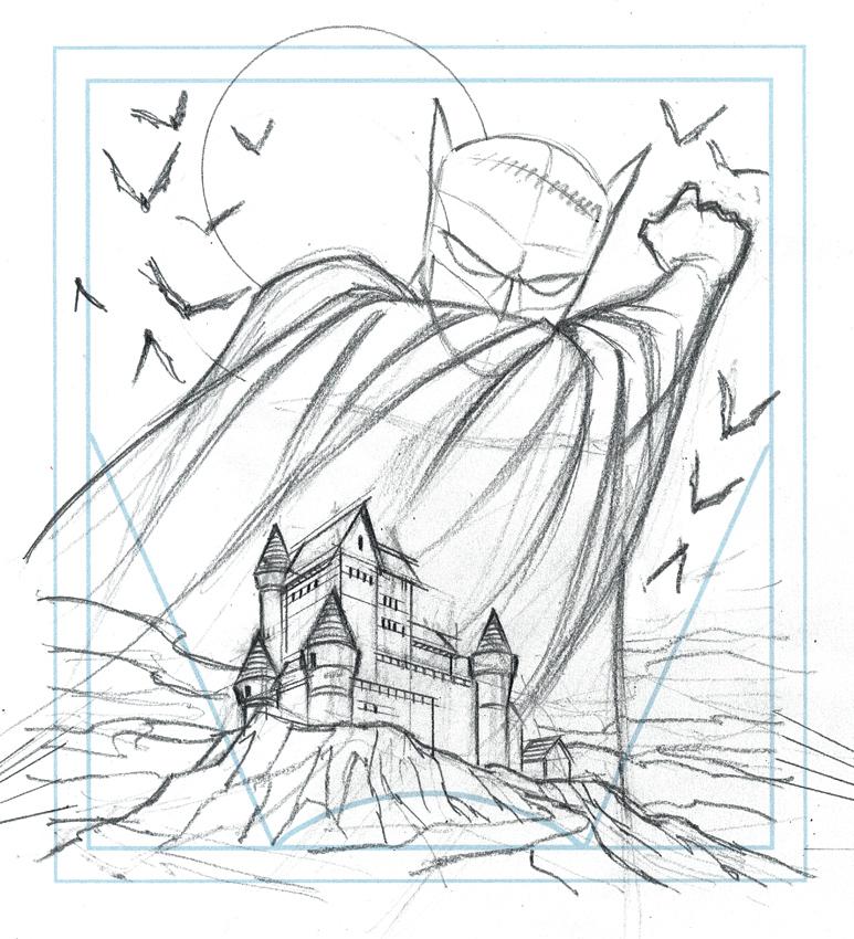 Drawn batman small #12
