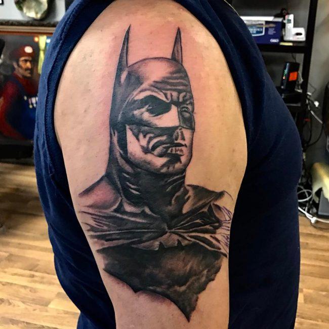 Drawn batman small #15