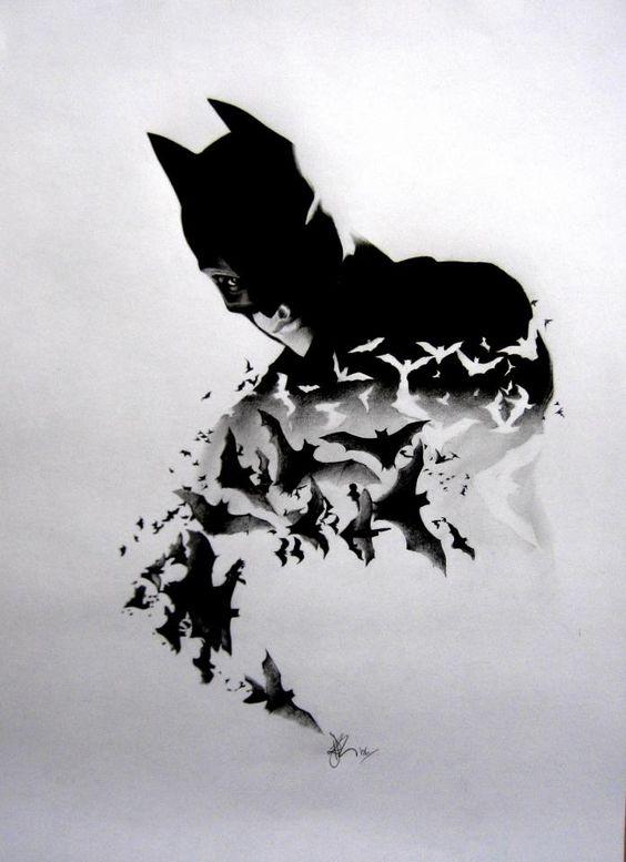 Drawn batman small #3