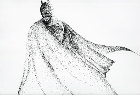 Drawn batman small #2