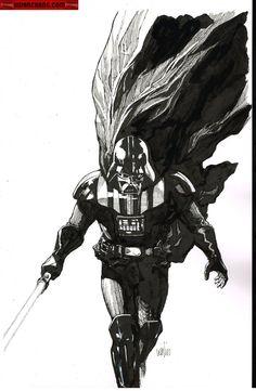 Drawn batman star wars darth vader Vader bacta Darth Star Wars