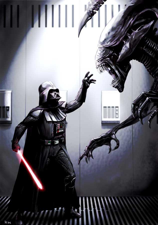 Drawn predator darth vader Vader Match Meets by Match