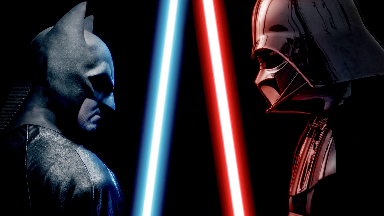 Drawn batman star wars darth vader ENDING YouTube BATMAN DARTH BATMAN