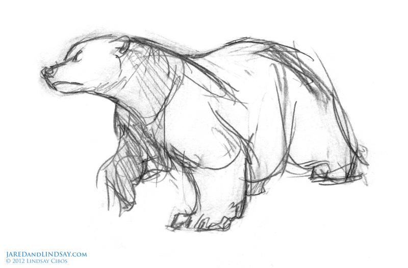 Drawn polar  bear disney Picture cartoon) Picture tale bear