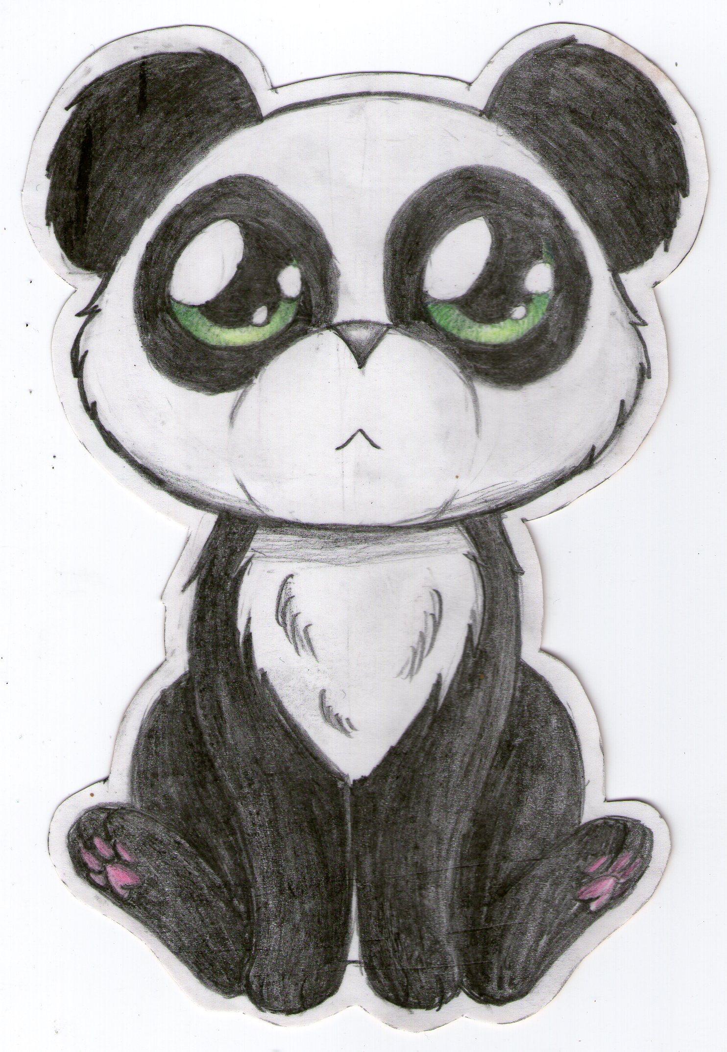 Drawn hawk baby #4