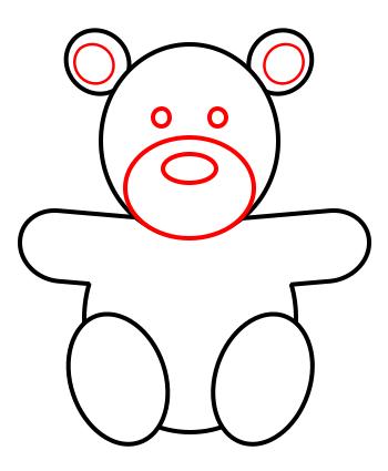 Drawn santa simple Draw draw bear a bear