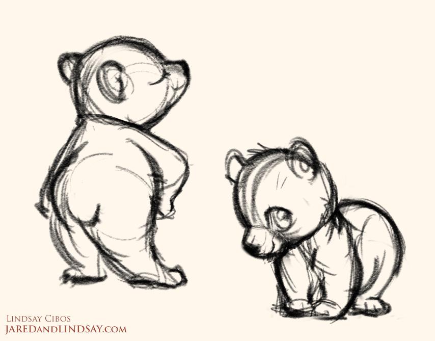 Drawn polar  bear chibi 4 Last Webcomic Page Bears