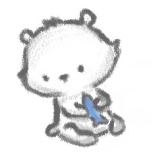 Drawn polar  bear chibi By Chibi Dave Chibi Polar