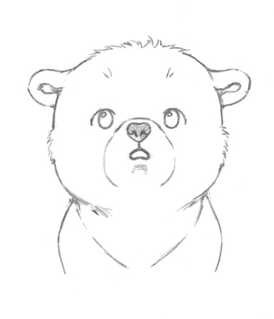 Drawn polar  bear tiny Drawing Tumblr Drawing tumblr Cute