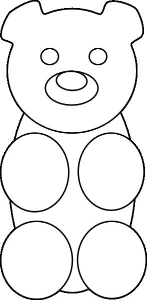 Teddy clipart gummy bear Vector online as: Gummy