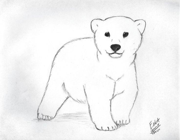 Drawn polar  bear cute cartoon Photo#14 cartoon drawing Polar Drawing