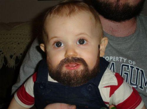 Drawn beard baby Meme Baby generator Beard image