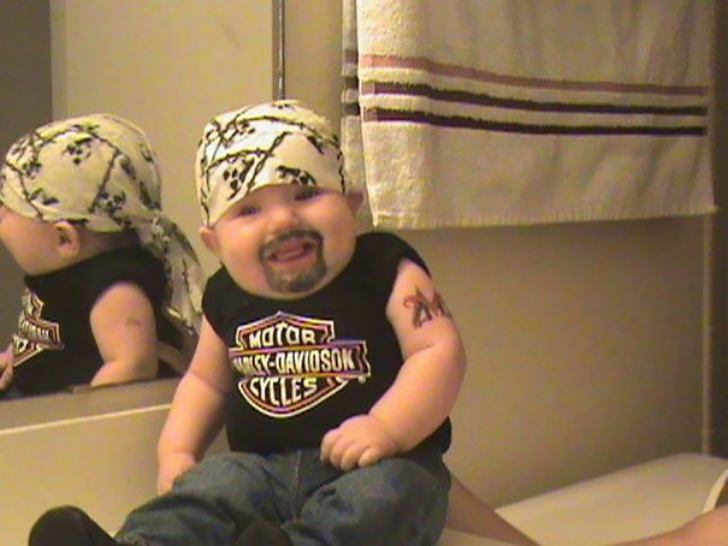 Drawn beard baby Can't Kids Hilarious Baby Their