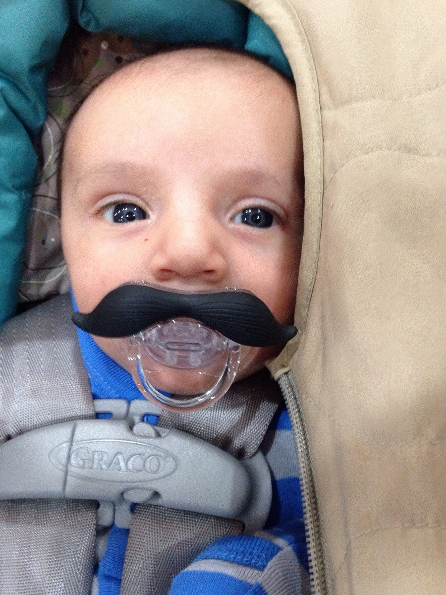 Drawn beard baby With Babies mustache question you