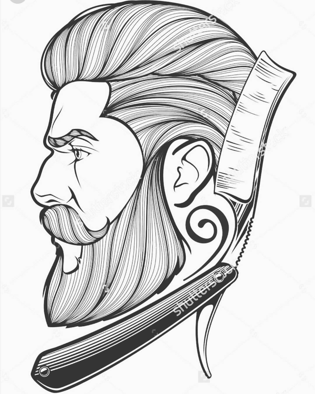 Drawn beard business professional Drawing Nice A drawing Nice