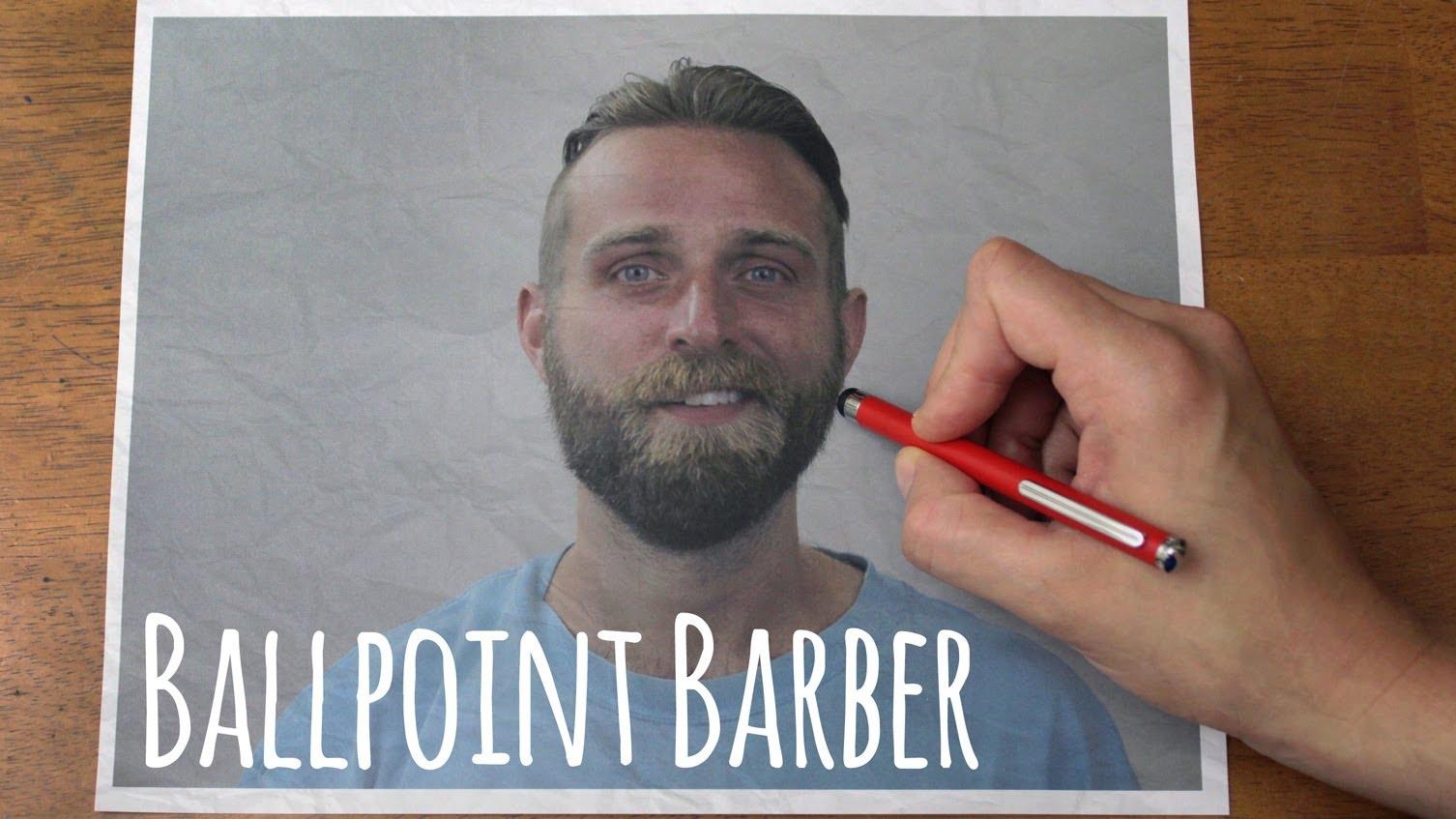 Drawn beard crispy  Dear Ballpoint // Beard