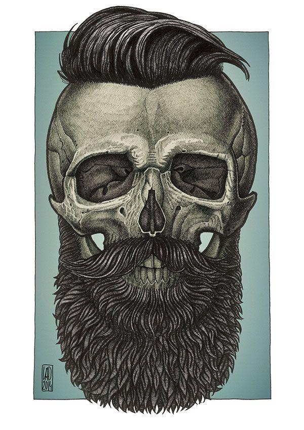 Drawn beard crispy DAPPER Find 327 more this