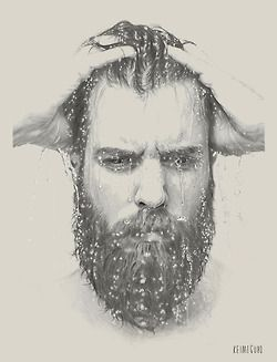 Drawn beard crispy Images Find best more this