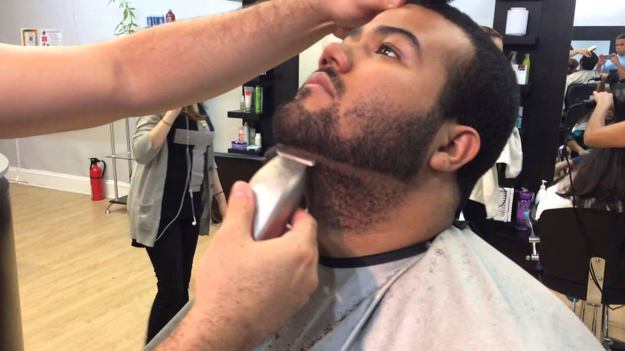 Drawn beard crispy YouTube  Shape Up How