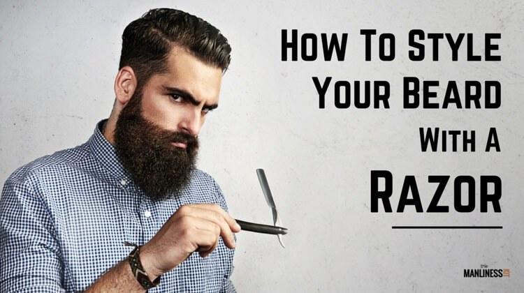 Drawn beard crispy Manliness  Razor? a How