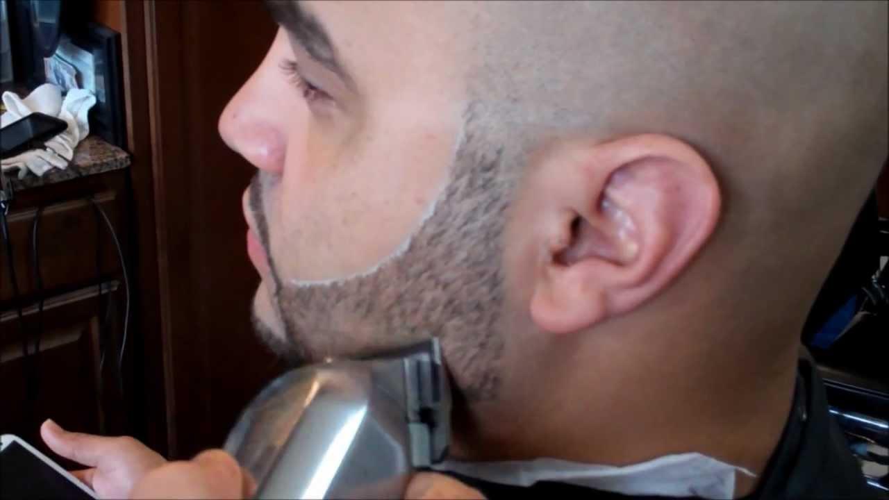 Drawn beard crispy TIMELESS BEARD HOW LINE TRIM