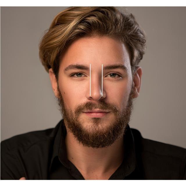 Drawn beard thick eyebrow Eyebrows to Groom Way The