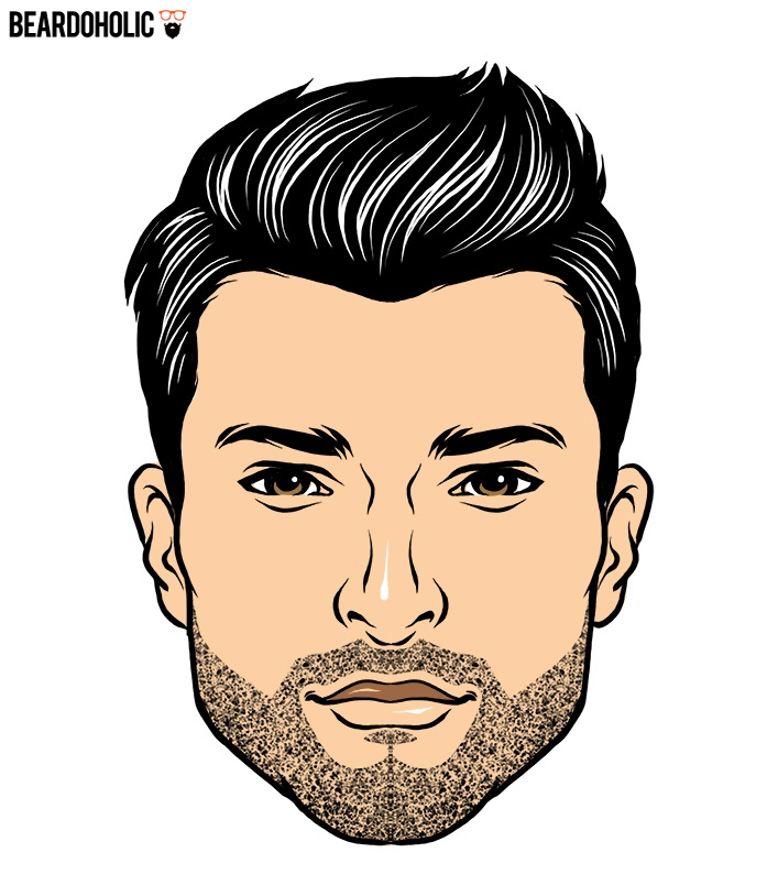 Drawn beard thick eyebrow Beard of Thin and and