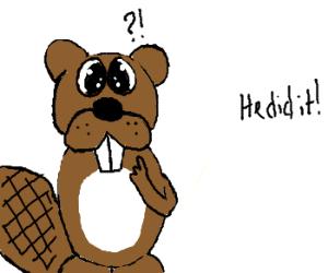 Drawn beaver Was Raylenna) beaver it it