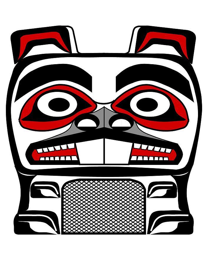 Totem Pole clipart cherokee Resources Art Potts  art