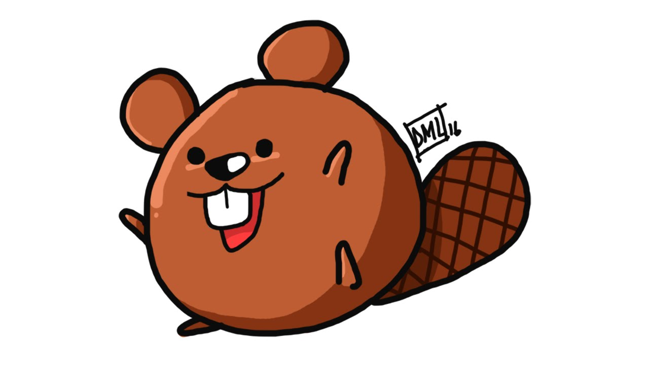 Beaver clipart kawaii To doodle cute draw character