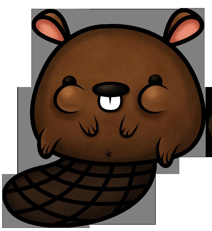Beaver clipart kawaii Crusher fat fat Beaverly Pinterest