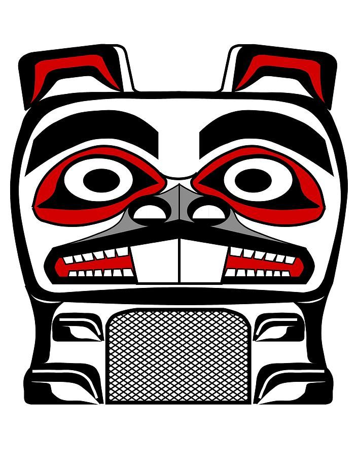 Totem Pole clipart makah On by Beavers Totem Beaver