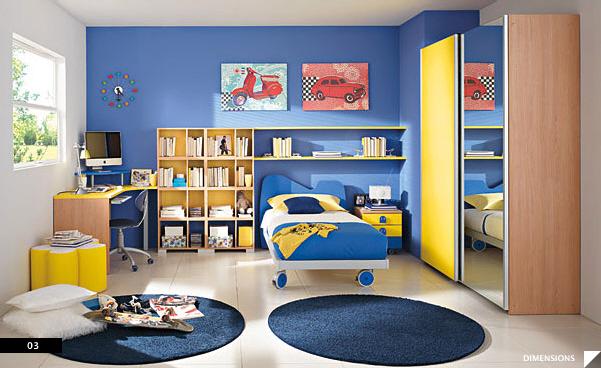 Drawn bed Modern 21 Columbini Kids Furniture