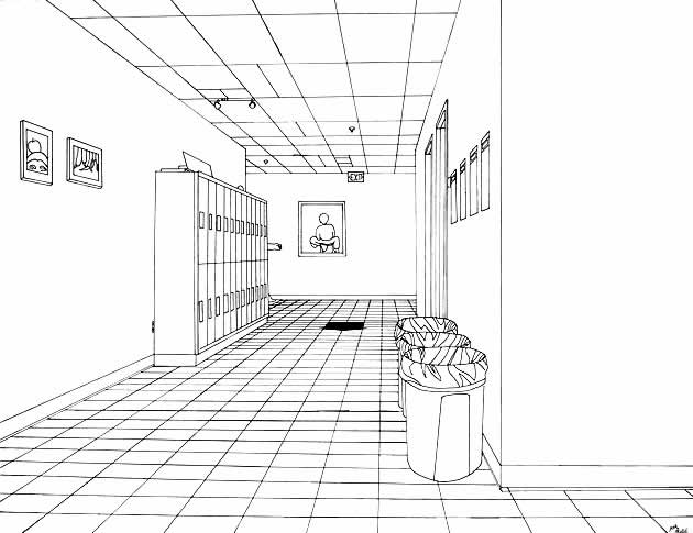 Drawn bedroom 3d classroom Guide Ultimate Perspective One The