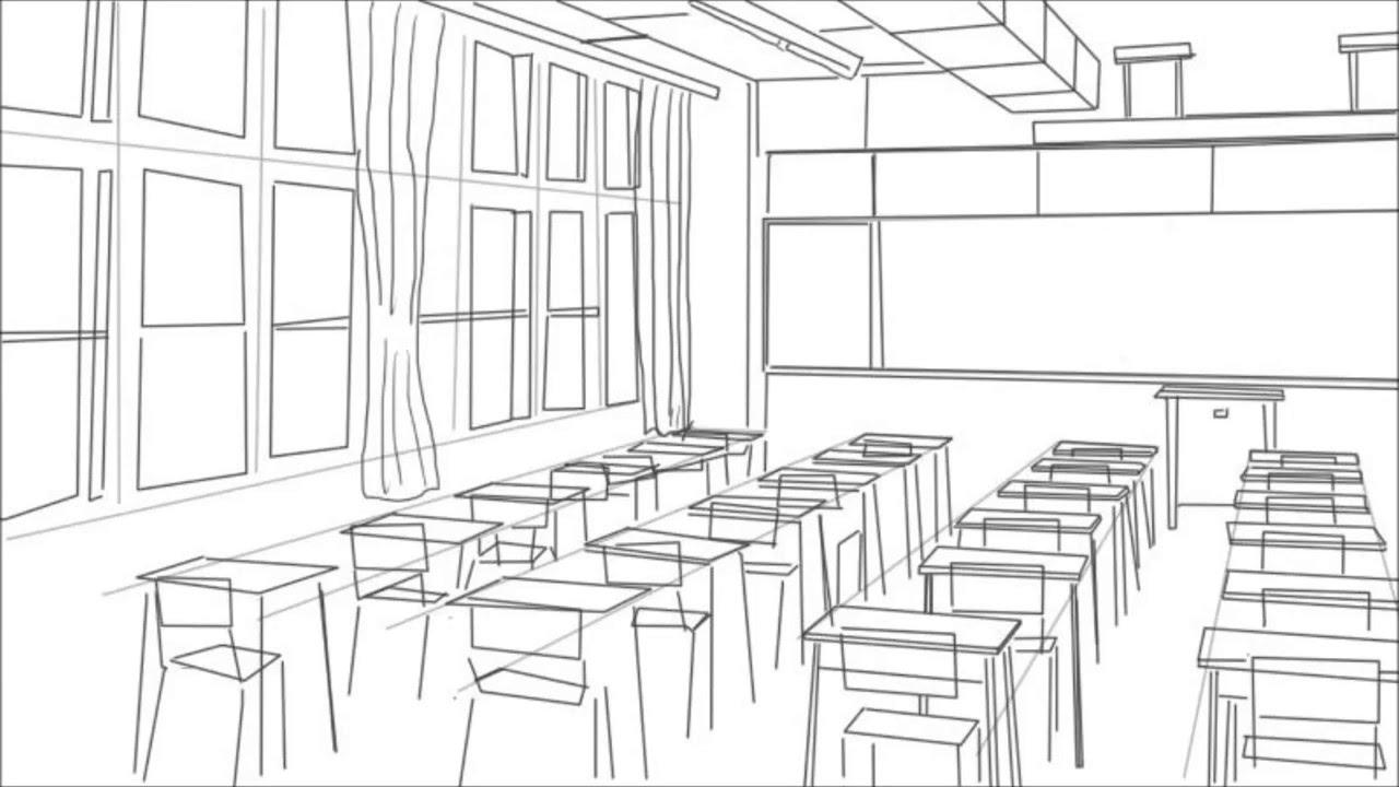 Drawn bedroom 3d classroom YouTube Classroom To Classroom A