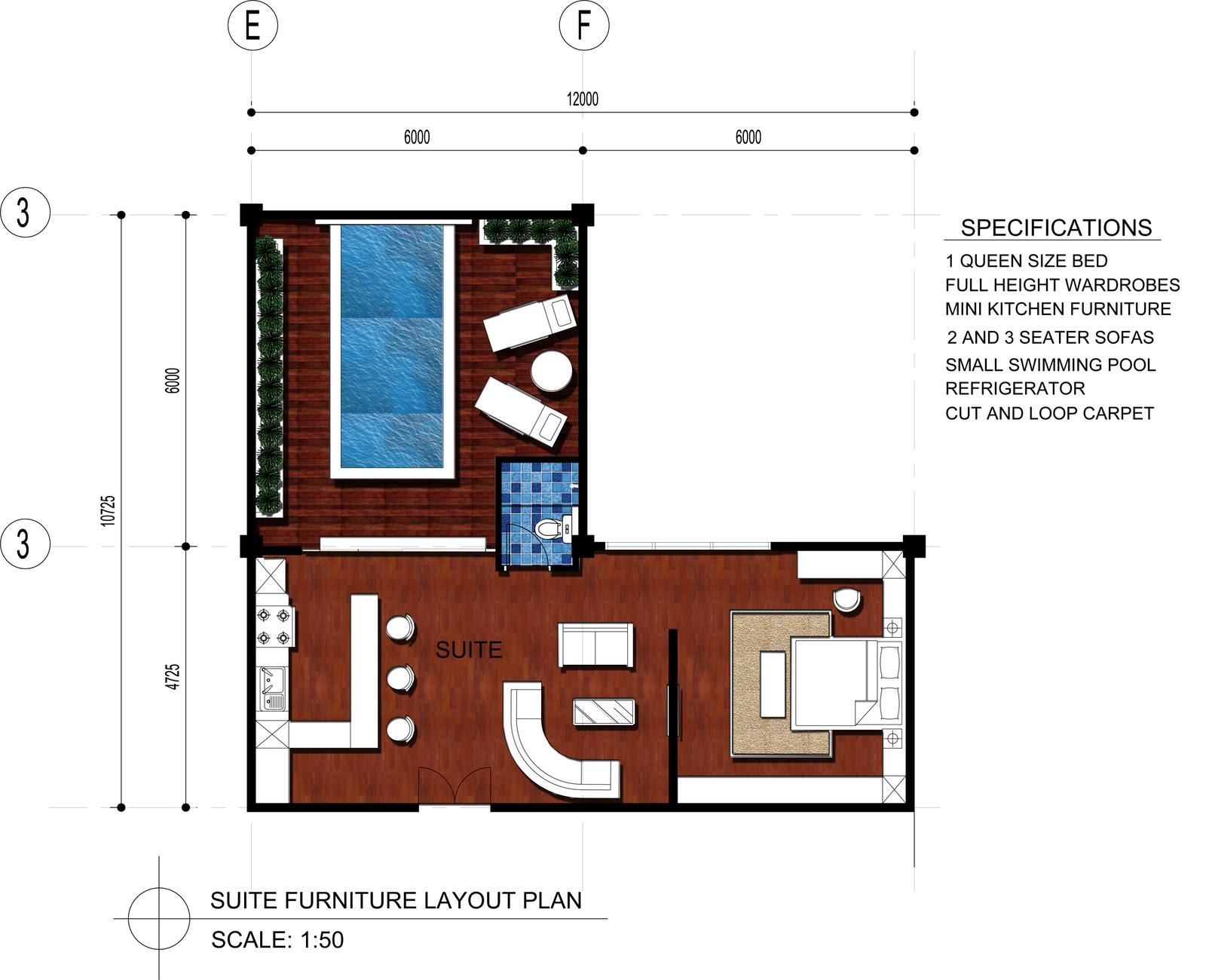 Drawn bedroom 3d classroom Banquet 3d Game Designing Software