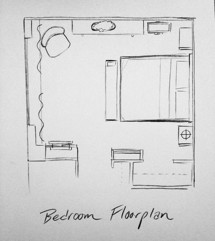 Drawn bedroom 3d classroom CraftsPenthouses images Interior Pinterest 3D/