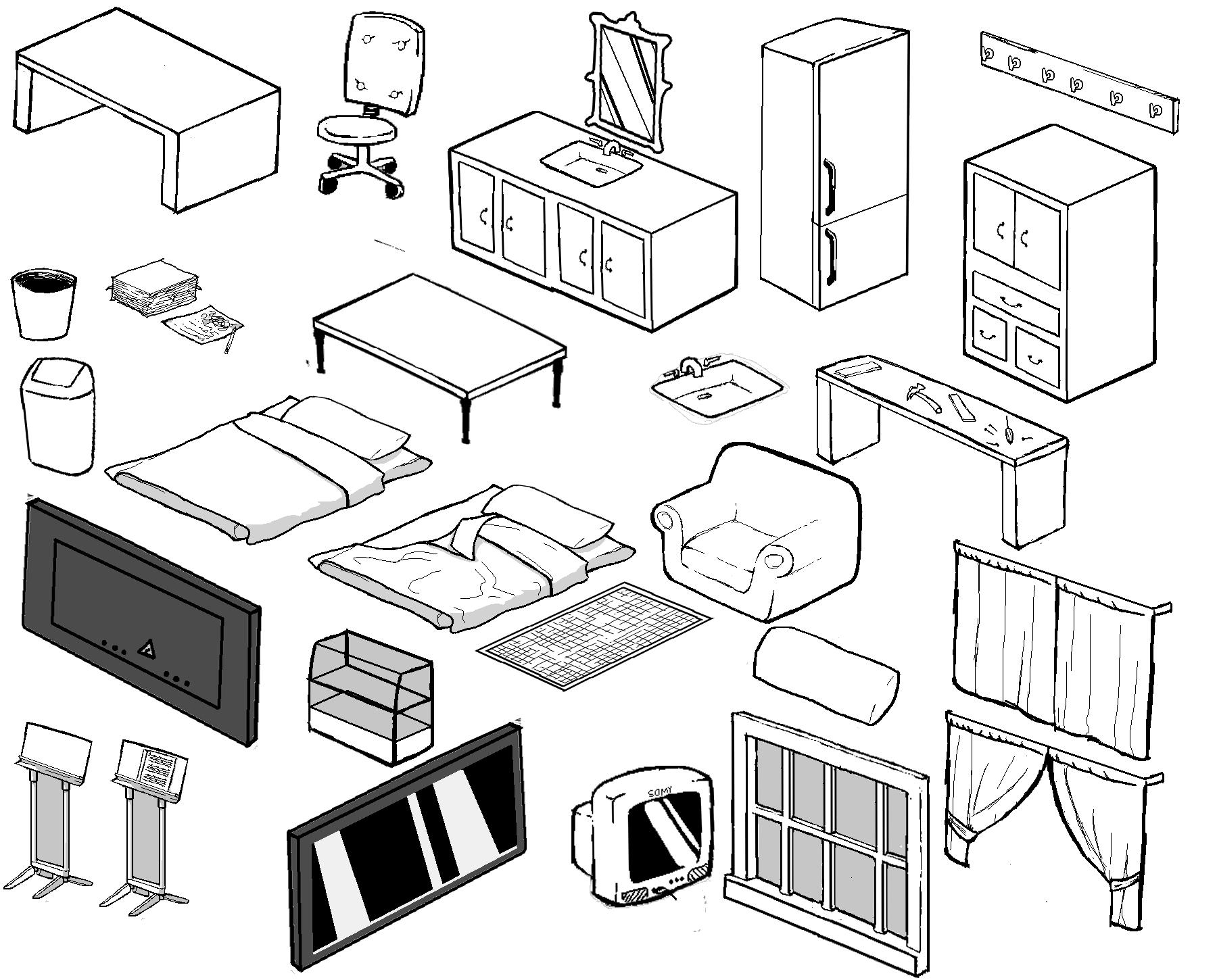 Drawn bedroom homestuck #10