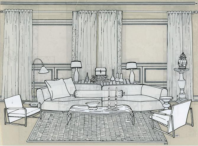 Drawn bedroom interior designer An layouts occurred error EzDecorator