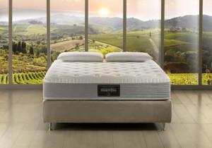 Drawn bedroom mattress Furniture Comfort Vita  9