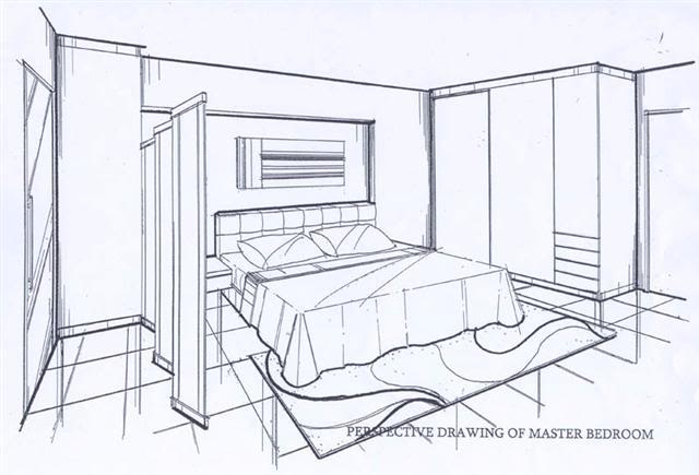 Drawn bedroom perspective How Google Search bedroom draw
