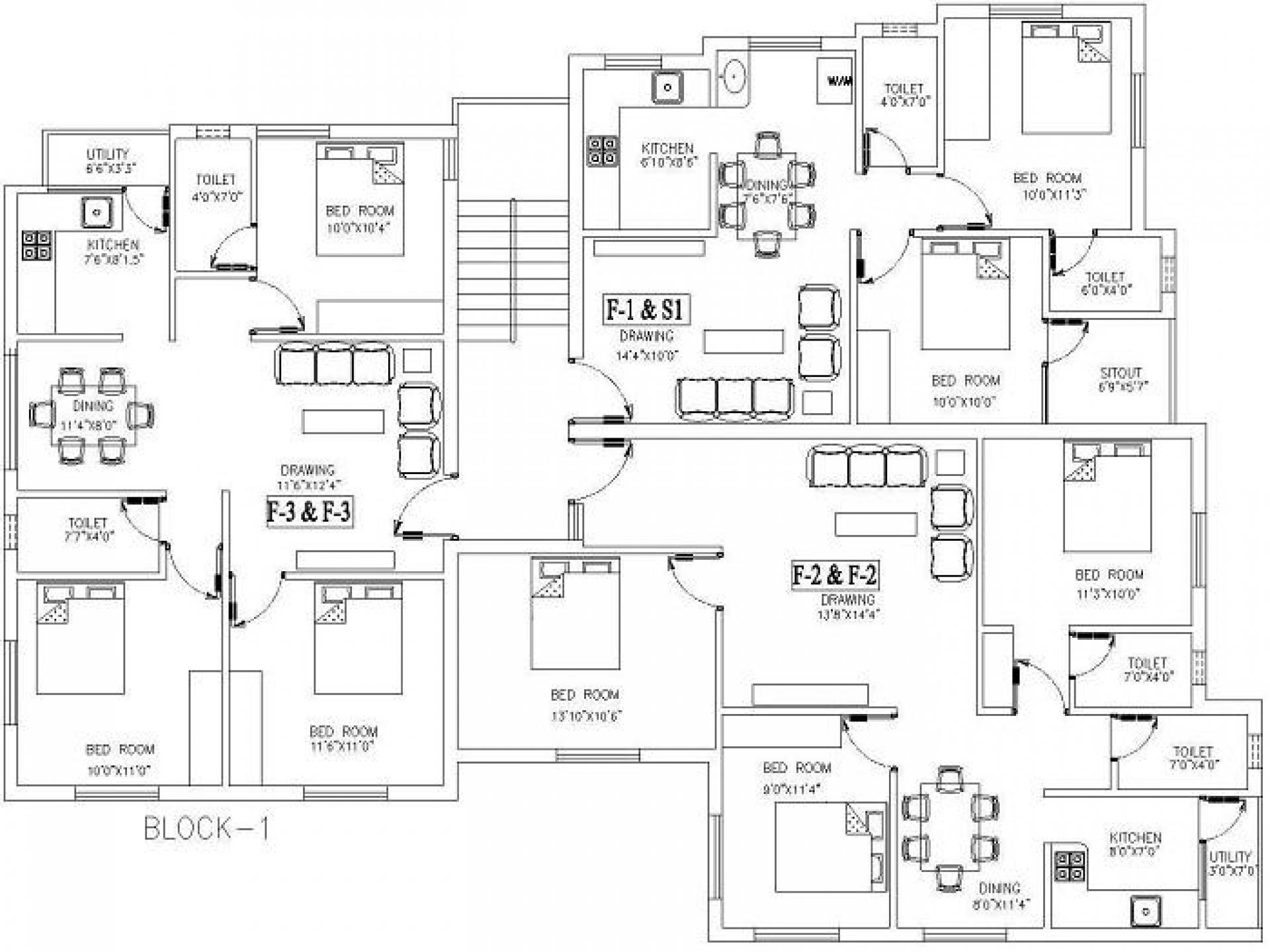 Drawn bedroom sketch plan Beautiful Design Drawing Design House