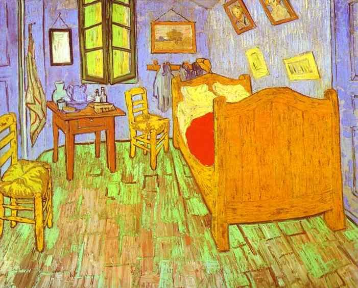 Drawn bedroom vincent van gogh #10