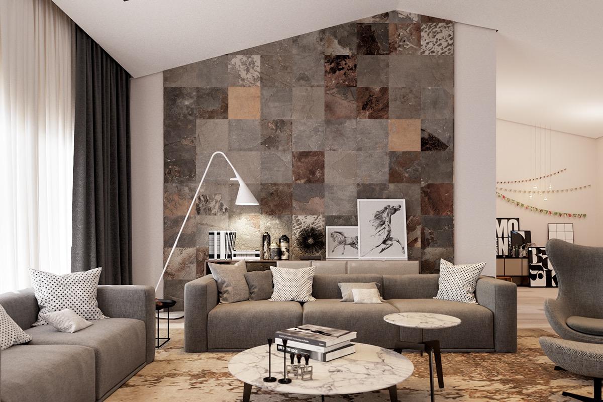 Drawn bedroom wall texture Room: Texture Living Designs Inspiration