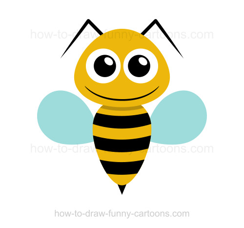 Drawn bees  bee How a to