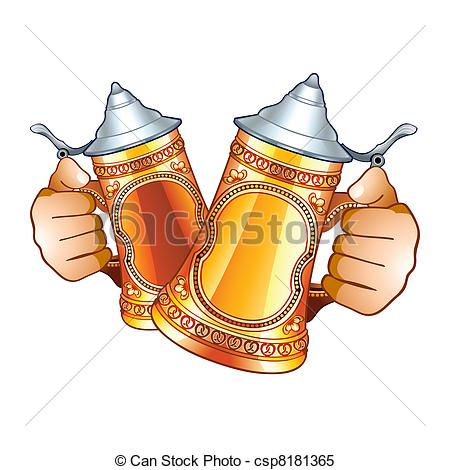 Beer clipart beer stein Human  Clipart stein Illustrations