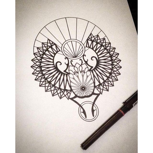 Drawn beatle egyptian #6