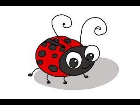 Drawn bug ladybug Kids Ladybug YouTube for How