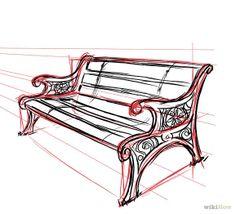 Drawn bench TWENTY16crafts Bench Park Zandi me