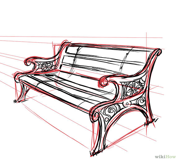 Drawn bench School  our This daughter